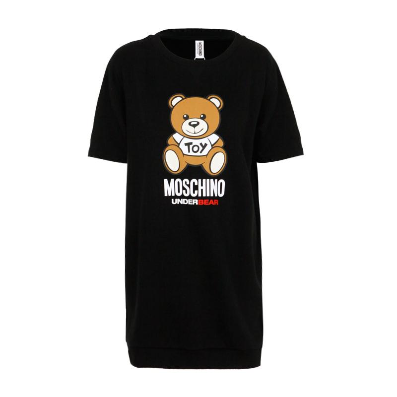 Moschino/莫斯奇诺秋冬新款小熊连衣裙女ZA3902 9005